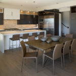 Ciel custom home kitchen