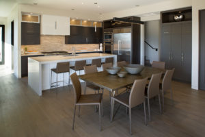 Ciel custom home kitchen