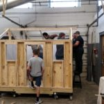 Enka High School playhouse build