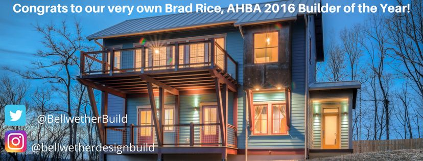 Asheville Home Builder of the Year 2016
