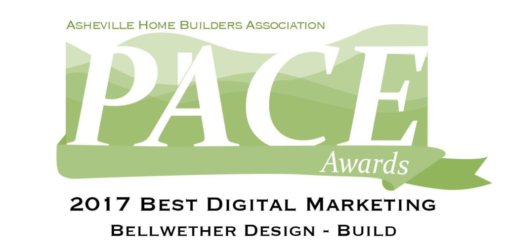 Asheville Home Builders Pace Award - Digital Marketing