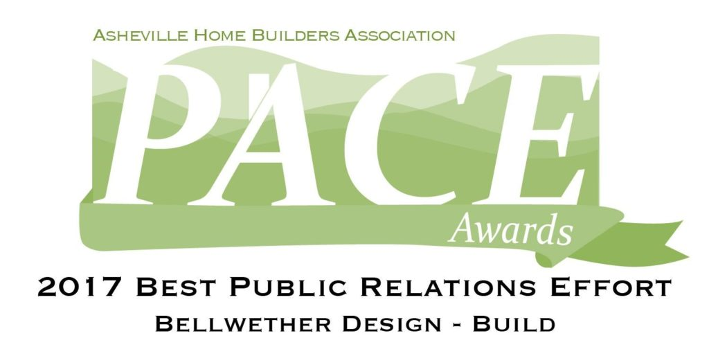 Asheville Home Builders Pace Award - Public Relations
